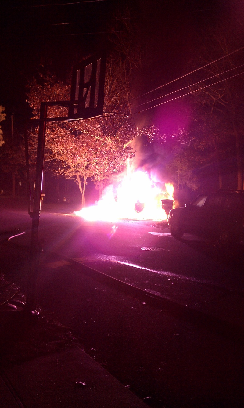 12-19-10 Vehicle Fire on Spruce Street