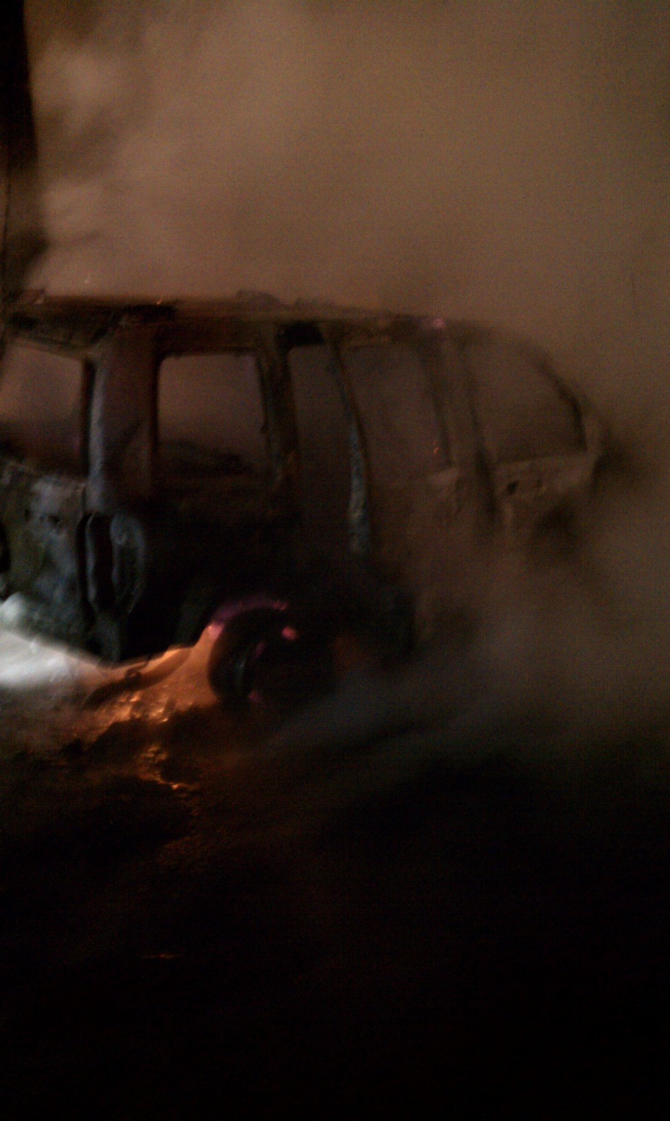 12-19-10 Vehicle Fire on Spruce Street